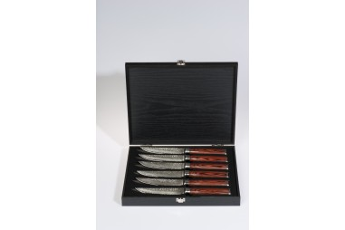 Box set with 6 knives of knives in...