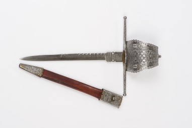 ES729 Knotted left-hand dagger