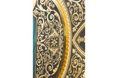 DA804 Plato damasquinado 25 cm
