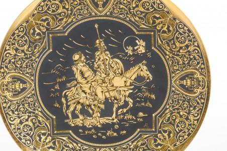 DA805 Plato damasquinado 25 cm