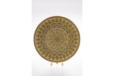 DA807 Damascene plate 35 cm