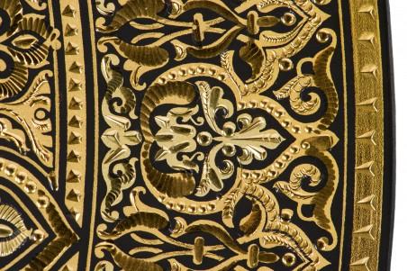 DA807 Plato damasquinado 35 cm