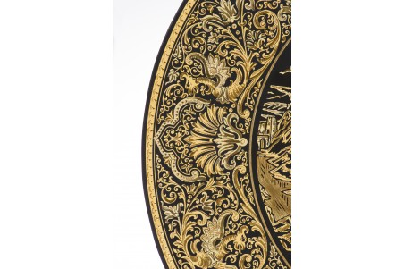 DA808 Plato damasquinado 35 cm