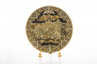 DA811 Damascene plate 20 cm