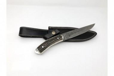 Handmade knives in Damascus steel -...