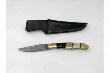 Cuchillos acero damasco artesanales - CU203AD