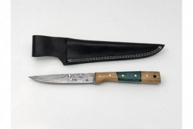 Cuchillos acero damasco artesanales - CU204AD
