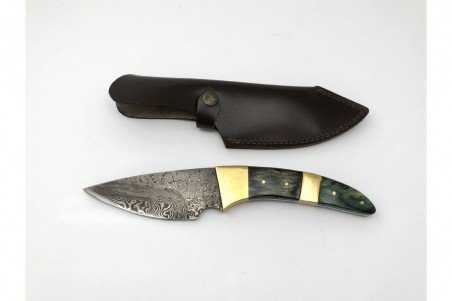 Cuchillos acero damasco artesanales - CU213AD