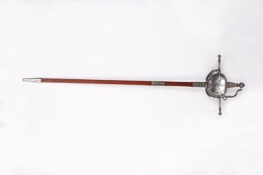 ES710 Espada de lazo de doble concha
